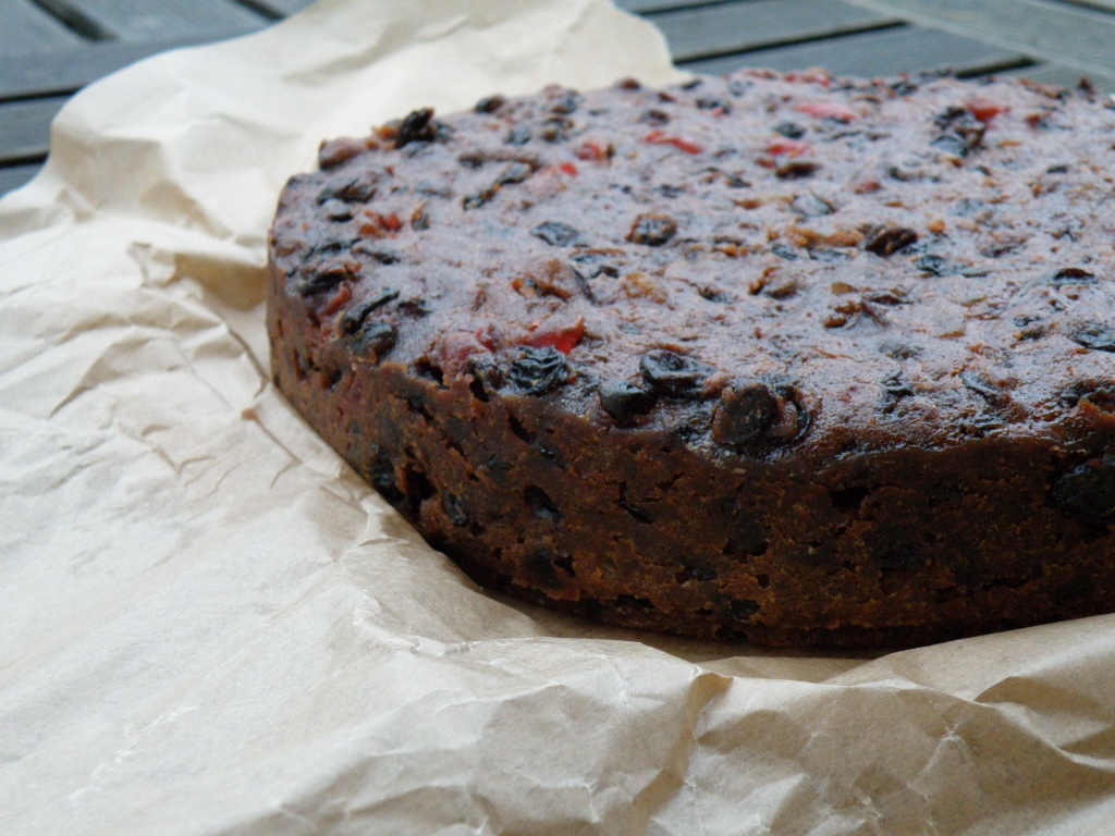 British Christmas Cake.Christmas Cake I Bake Without